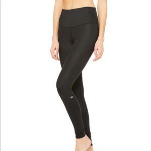 Alo yoga high waist airbrush black leggings